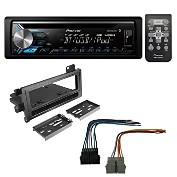 61b7xRrWwoL._SY355_ amazon com pioneer aftermarket car radio stereo cd player dash car stereo installation kit wiring harness at soozxer.org