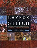 img - for Layers of Stitch: Contemporary Machine Embroidery by Valerie Campbell-Harding (2002-05-03) book / textbook / text book