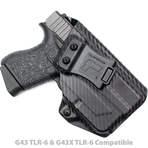 Tulster Glock 43/43X w/TLR-6 Holster IWB Profile Holster - Right Hand