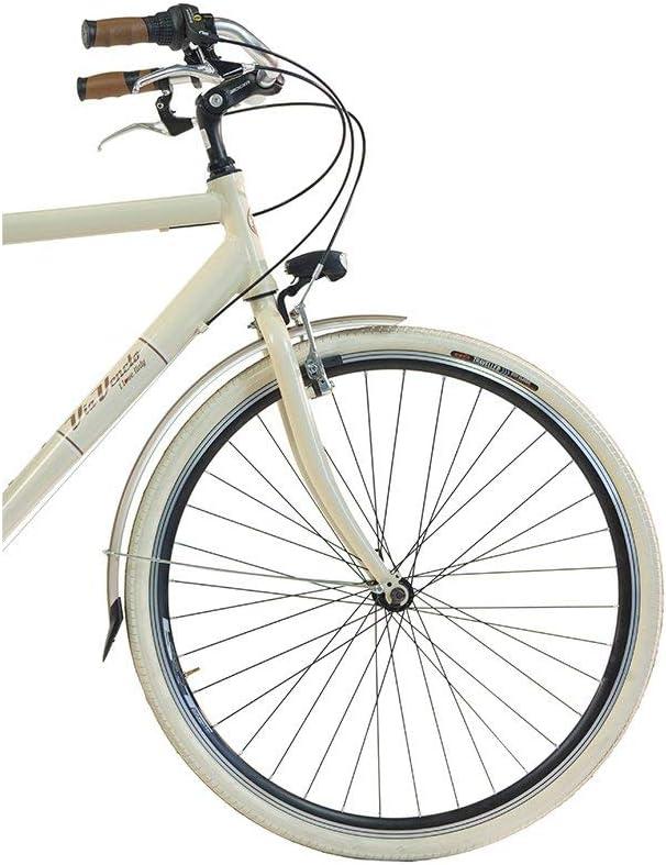 Via Veneto by Canellini Bicicletta Bici Citybike CTB Uomo Vintage Retro Via Veneto Alluminio