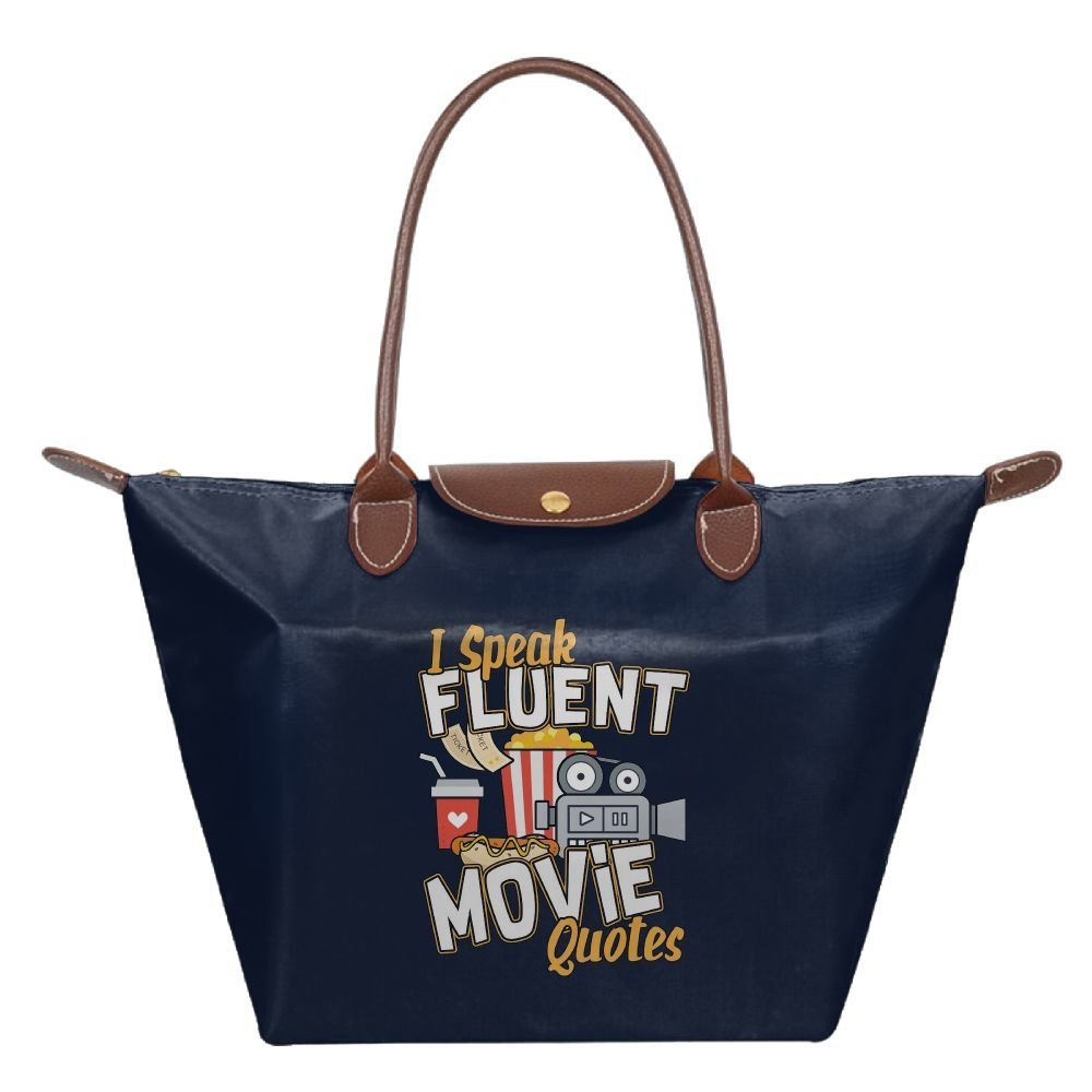 Adwelirhfwer Unisex I Speak Fluent Movie Quotes Baby Pack Navy