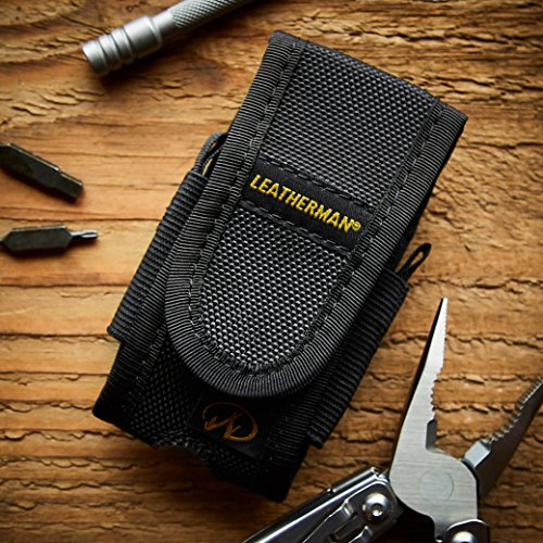 Leatherman - Standard Nylon Sheath with Pockets, Fits 4