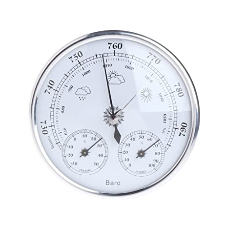 Amazon.com: HotelLee Household Weather Station Barometer ...