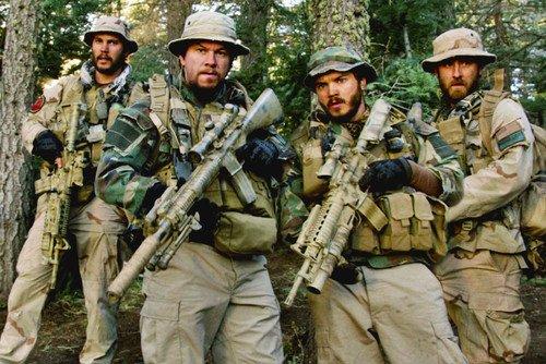 Mark Wahlberg, Taylor Kitsch, Emile Hirsch and Ben Foster in Lone Survivor  24x36 Poster