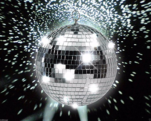 No Lights, Just the Ball! (8 Inch Disco Ball)