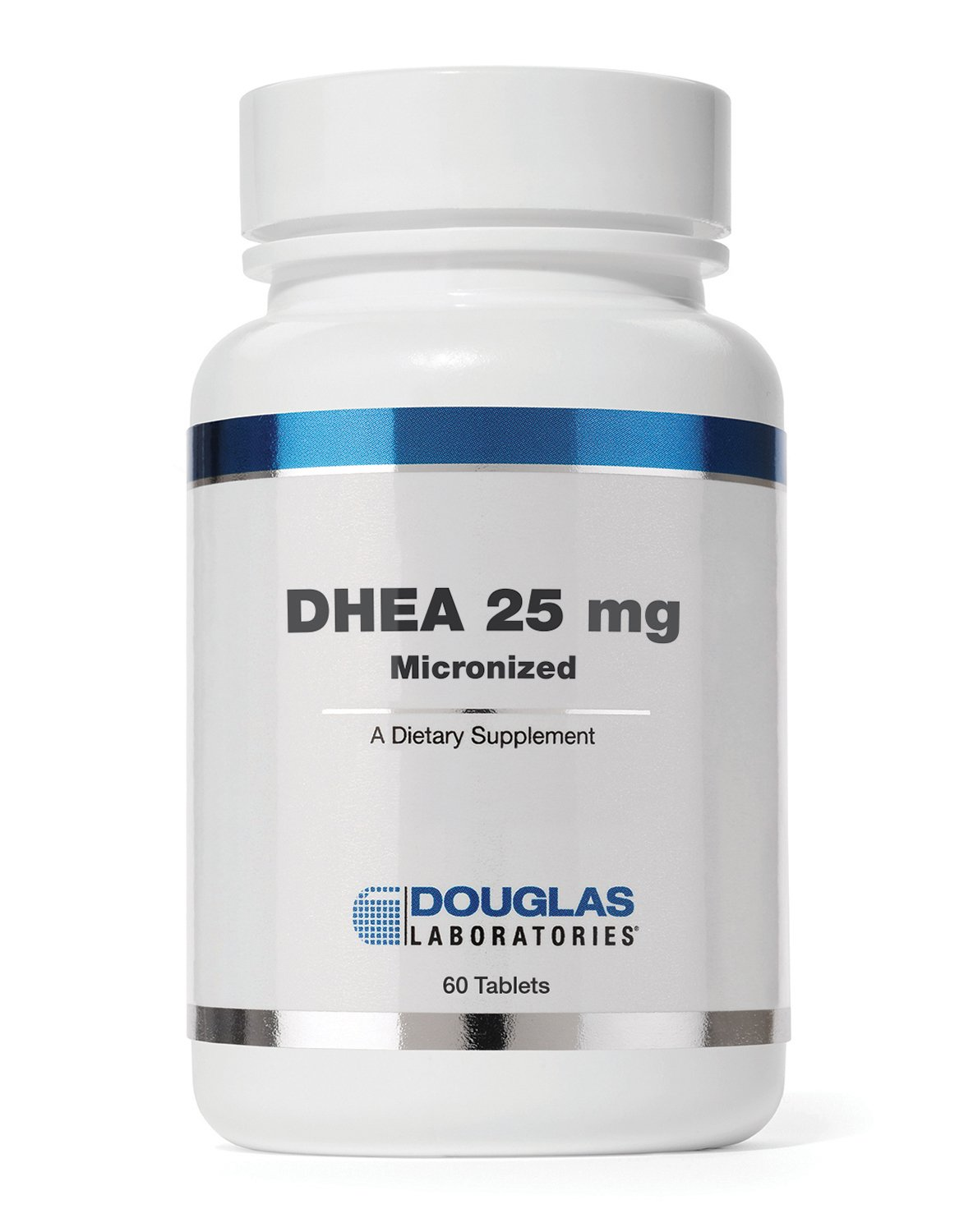 Douglas Laboratories - DHEA 25 mg - Micronized to Support Immunity, Brain, Bones, Metabolism and Lean Body Mass *- 120 Tablets