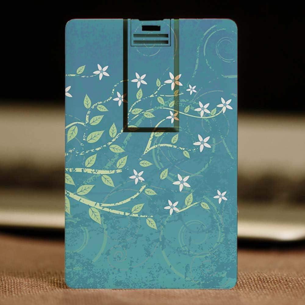 XGBIN カードタイプ 超薄型 ポータブル Uディスク クリエイティブ 耐磁性 防水 USB 2.0 フラッシュドライブ 32GB パーソナリティ ミニ漫画 majiangfeng-15574-XGBIN