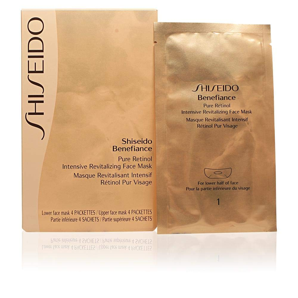Shiseido Revitalizing Maske Mask 1er Unisex 4 20 Intensive Retinol Ml Pure 5 Benefiance Face Pack X Ml 1