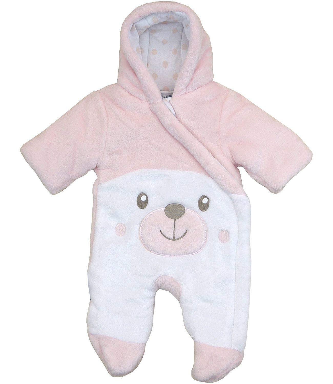 BabyPrem Preemie Baby Snowsuit Teddy SLD155