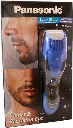 Panasonic ER-GB40-A511 cortadora de pelo barba de en húmedo y seco ...