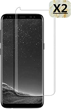 Haikingmoon Cristal Templado Samsung S9 Plus,[2 Piezas] Ultrafino ...