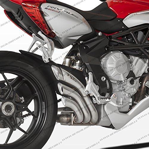 Mv Agusta Rivale 800 2013 13 Auspuff Hp Hydro Tre Vmv3hy1005scp A Auto