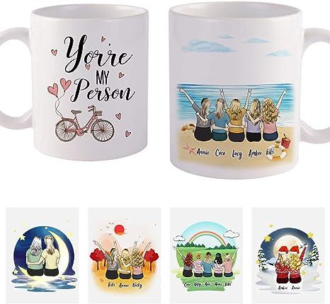 Best Friend Gifts Custom Gifts 3 Best Friend Mug Best Friend Gifts Long Distance Mug Best Friend Gifts Distance Best Friend Birthday Gifts Sister Mug Pretty Phoxie Mom Mug