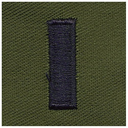 Vanguard AIR FORCE EMBROIDERED RANK: FIRST LIEUTENANT - SUBDUED FATIGUE