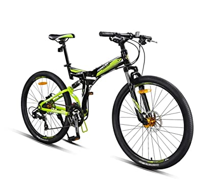 Amazon.com: City Bike - Bicicleta plegable de 26 pulgadas y ...