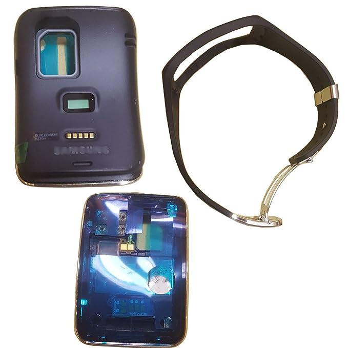 Para Samsung Galaxy Gear S SM-R750 negro correa para reloj: Amazon ...