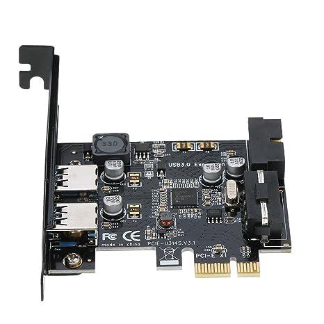 STW PCI-E para USB 3.0 de 2 puertos Tarjeta PCI Express Mini ...
