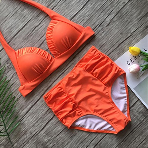 Teen Bikini Costume smerlato bagno Teen Angelof Push alta 2 donna pezzi da Girl Vita Imbottitura Top Up zzqrO