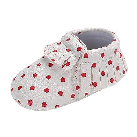 Zapatos de Bebé, cinnamou bebé Chica Joven Soft Sole zapatos ...