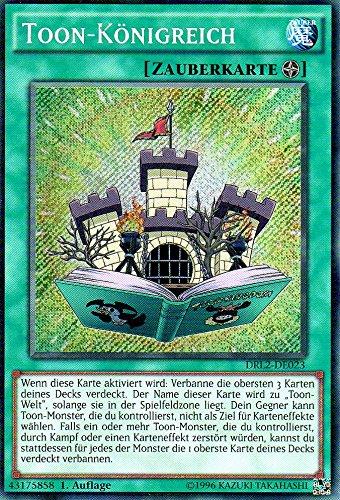 Toon-Königreich DRL2-DE023 1. Auflage Secret Rare NM DE YU-GI-OH!