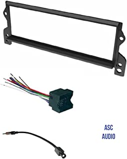amazon com asc audio car stereo radio wire harness and antenna rh amazon com
