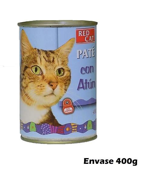 RED CAT Lata paté con atún 400g Comida para Gatos