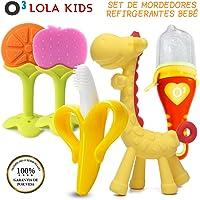 O³ Lola Kids Mordedor Bebes Refrigerante 5 Unidades