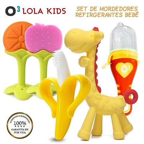 O³ Lola Kids Mordedor Bebes Refrigerante 5 Unidades ...