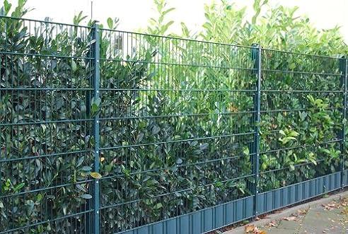 Gesamt Paket-Preis 50m Zaun 1430mm Höhe RAL6005/grün ...