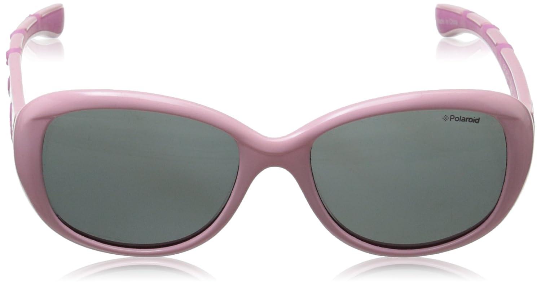 Amazon.com: Polaroid anteojos de sol p0411s polarizadas Oval ...