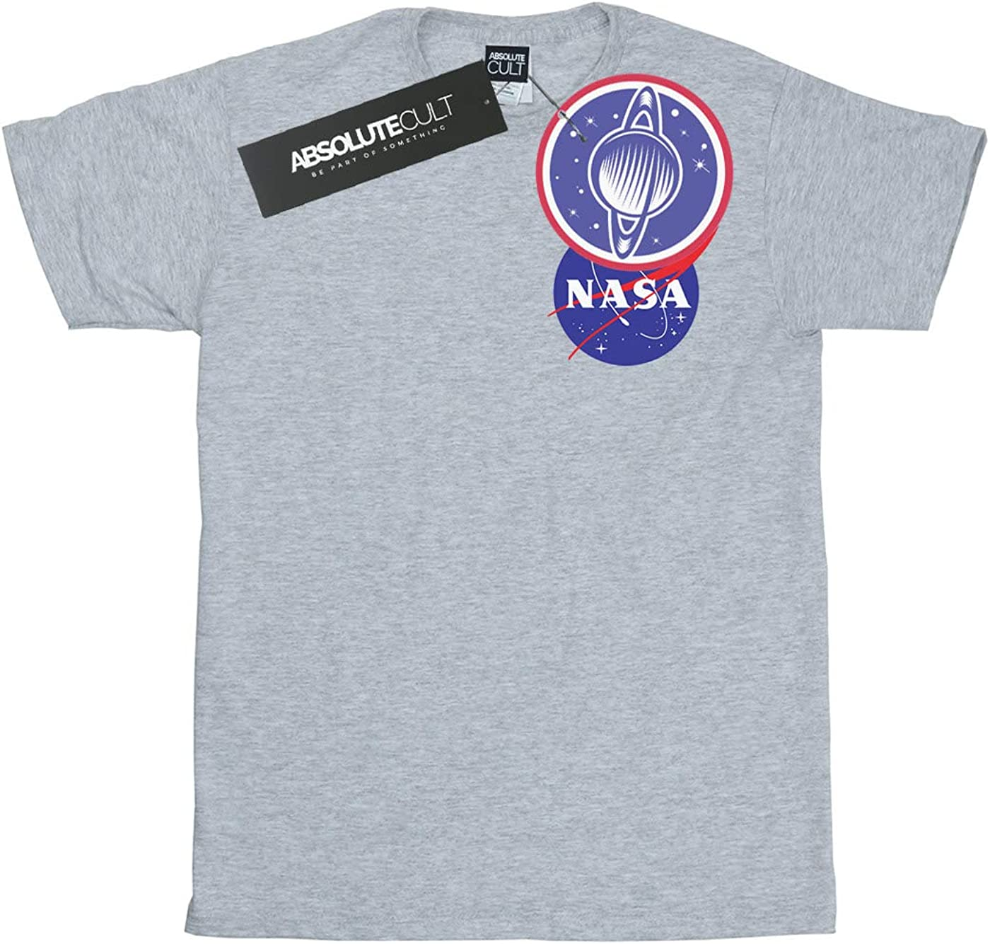 Nasa Girls Classic Insignia Chest Logo T-Shirt
