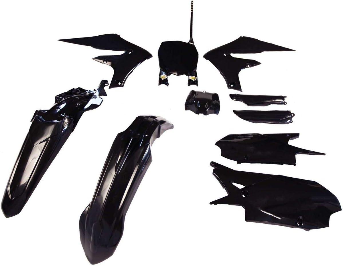 Cycra Powerflow Rear Fender Black for 19-20 Yamaha YZ250F