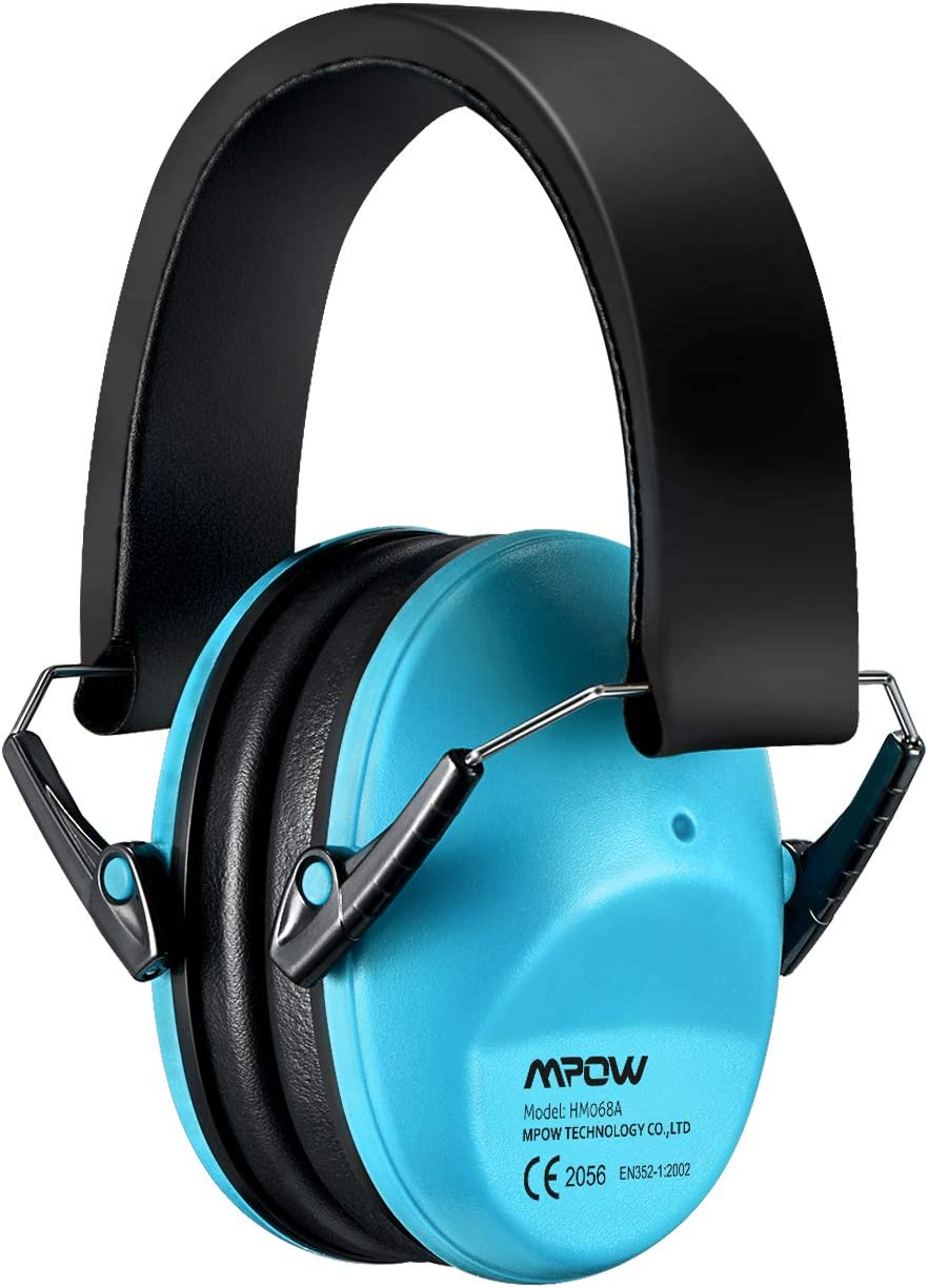 Mpow 068 Kids Ear Protection, NRR 25dB Noise Reduction Ear Muffs, Toddler Ear  Protection, Protective Earmuffs for Shooting Range Hunting Season, for  Toddlers Kids Children Teens-Blue - - Amazon.com