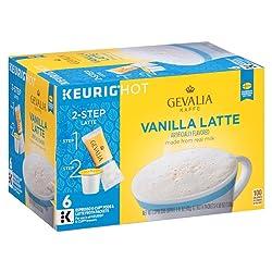 Gevalia Vanilla Latte Espresso Coffee