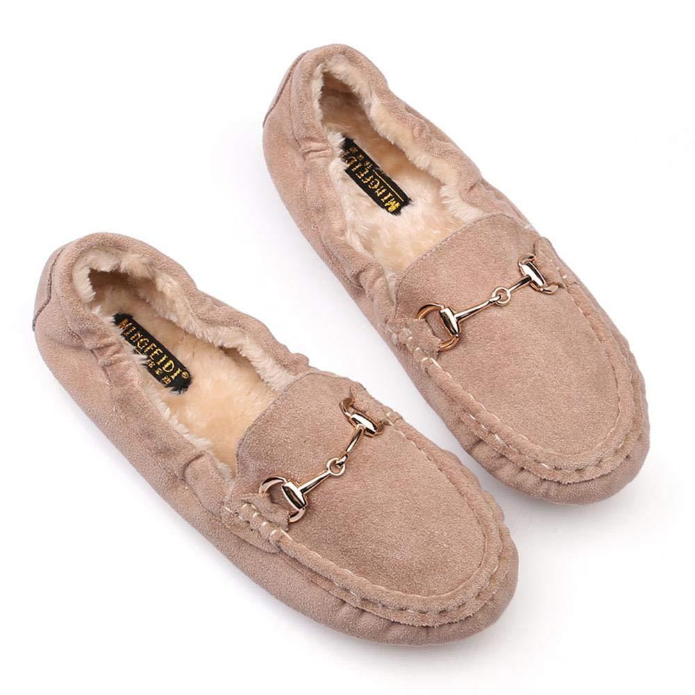 Nyrgyn Herbst Und Winter Plus Flache Schuhe Aus Samt
