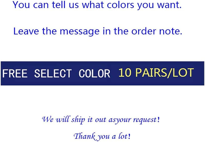 Black Breathable Black Cotton Socks short Big 10 Pairs