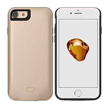 HWeggo iPhone 7 Recargable Caso, 5200 mAh Cargador de ...