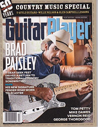 Holiday Brads - GUITAR PLAYER - MAGAZINE HOLIDAY 2017 BRAD PAISLEY