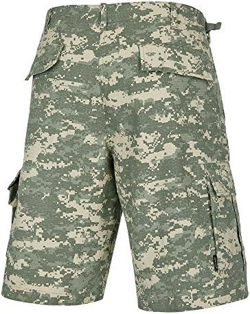 100/% Cotone RIPSTOP Combat BDU Cargo Pantaloncini In Nero-Tutte le taglie