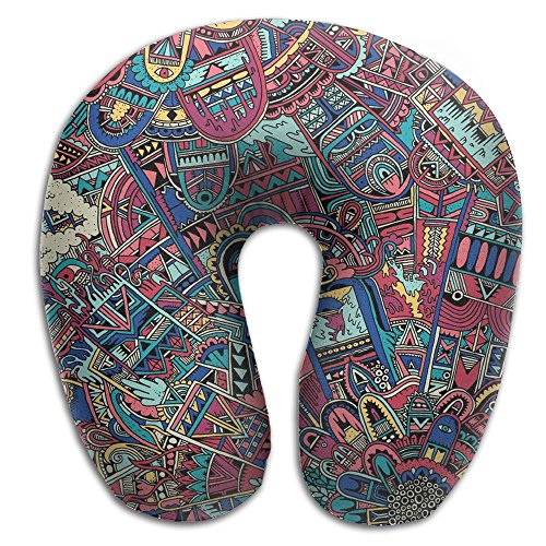 Scorpio Hippie Hip Hop Washable Cover Travel Pillow Massager U SHAPE Travel Rest - Shape Which Sunglasses