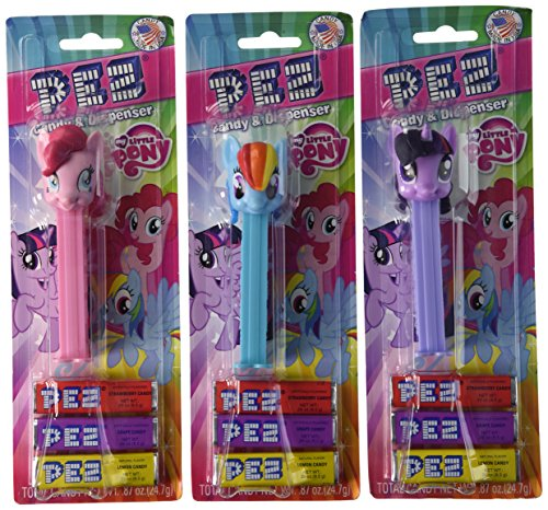 (PEZ Assortment, My Little Pony, 0.87 Ounce (Pack of 12))