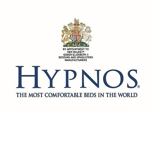 Hypnos clásico con colchón de lana | Soak & Sleep, tela, beige, King (150cm x 200cm): Amazon.es: Hogar