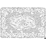Large Coloring Tablecloth Or Poster | Birthday Fun | Thick & Leak-Proof | Comes With A 12 Color Pencil Set | Also Great For Your Crayons Or Markers | Fun At A Party for Kids or Adults | Supplies
