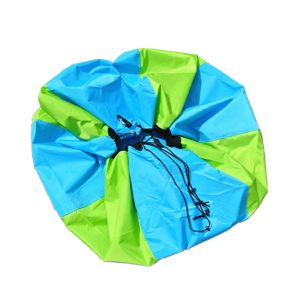 MLTS Paraglider Quick Paking Bag Heavy Duty Paragliding Fast Stuff Sack Paragliding Paramotor PPG (Green, Large) by MLTS