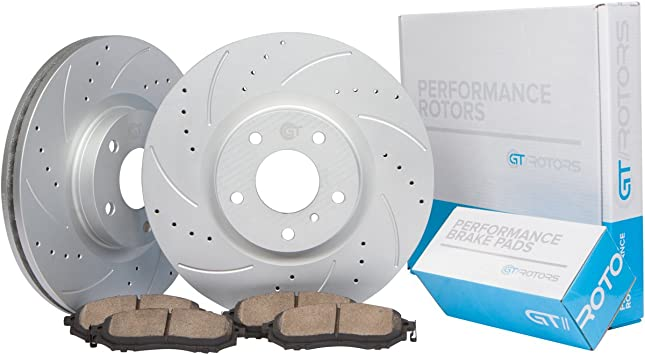 2011 2012 2013 Acura TSX OE Replacement Rotors w//Metallic Pads F