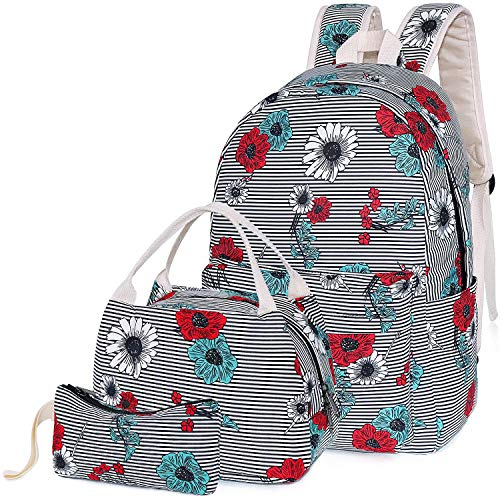 Middle School Backpacks with Lunch Bag Pencil