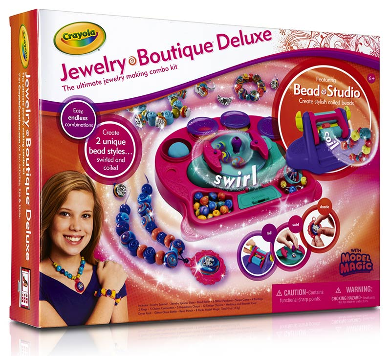 Amazon.com: Crayola Jewelry Boutique Neon: Toys & Games