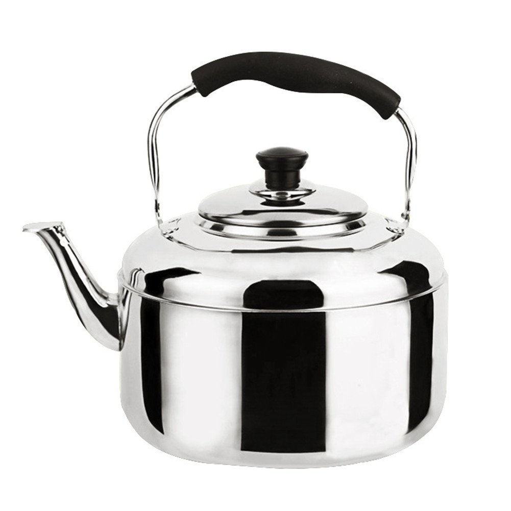 Kangsur Stainless Steel Kettle Whistling Teapot Induction Cooker 4L