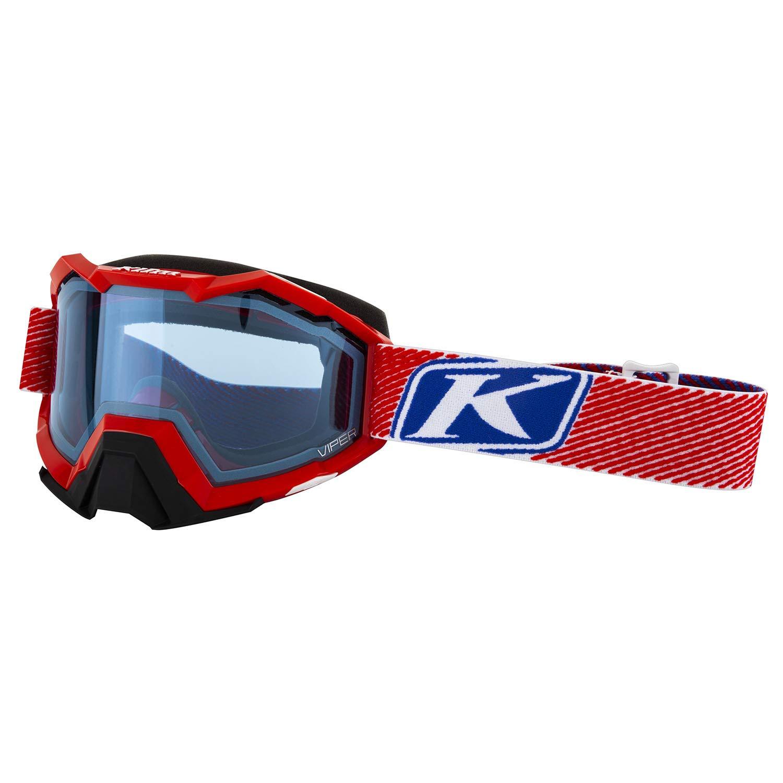 a7f8e53d8b2f Amazon.com  KLIM Viper Snow Goggle Fade Red Blue Tint  Automotive