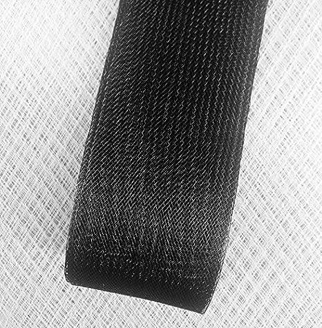 Selling per Roll 22 Yard 2inch Wide Black Polyester Horsehair Braid